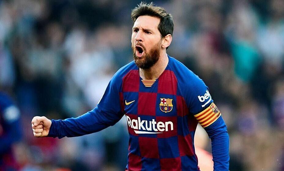 Messi cần thêm ba bàn để chạm mốc 666 bàn cho Barca. Ảnh: Marca
