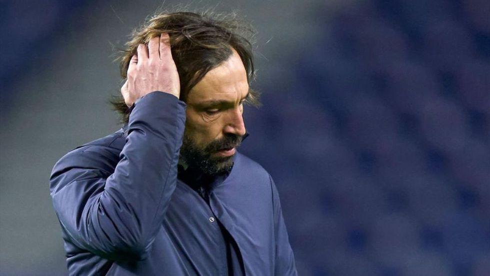 Guru dan murid Pirlo telah seri delapan pertandingan di Serie A musim ini.  Foto: Sasaran.