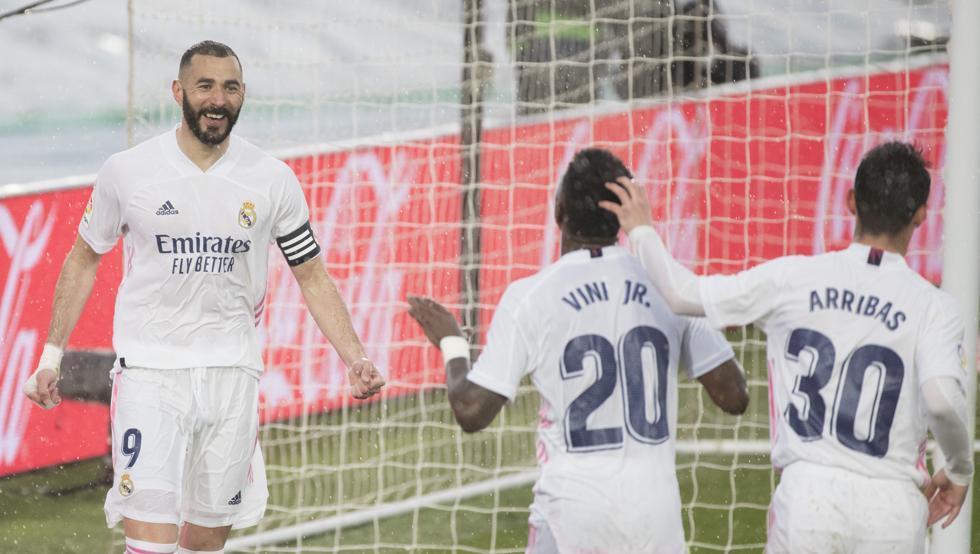 Benzema chưa bao giờ làm Real thất vọng ở vị trí trung phong.