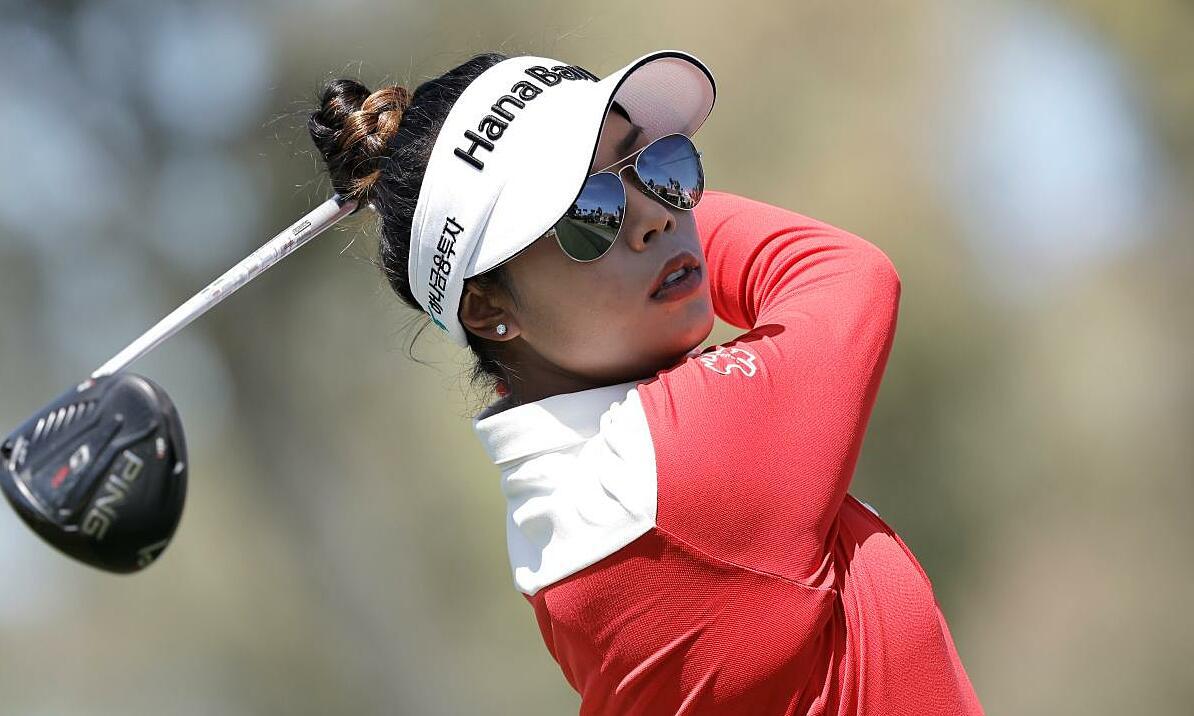 Tavatanakit mengembangkan keahliannya untuk melakukan pukulan jarak jauh untuk mendapatkan keunggulan setelah tiga putaran.  Foto: Golf Digest