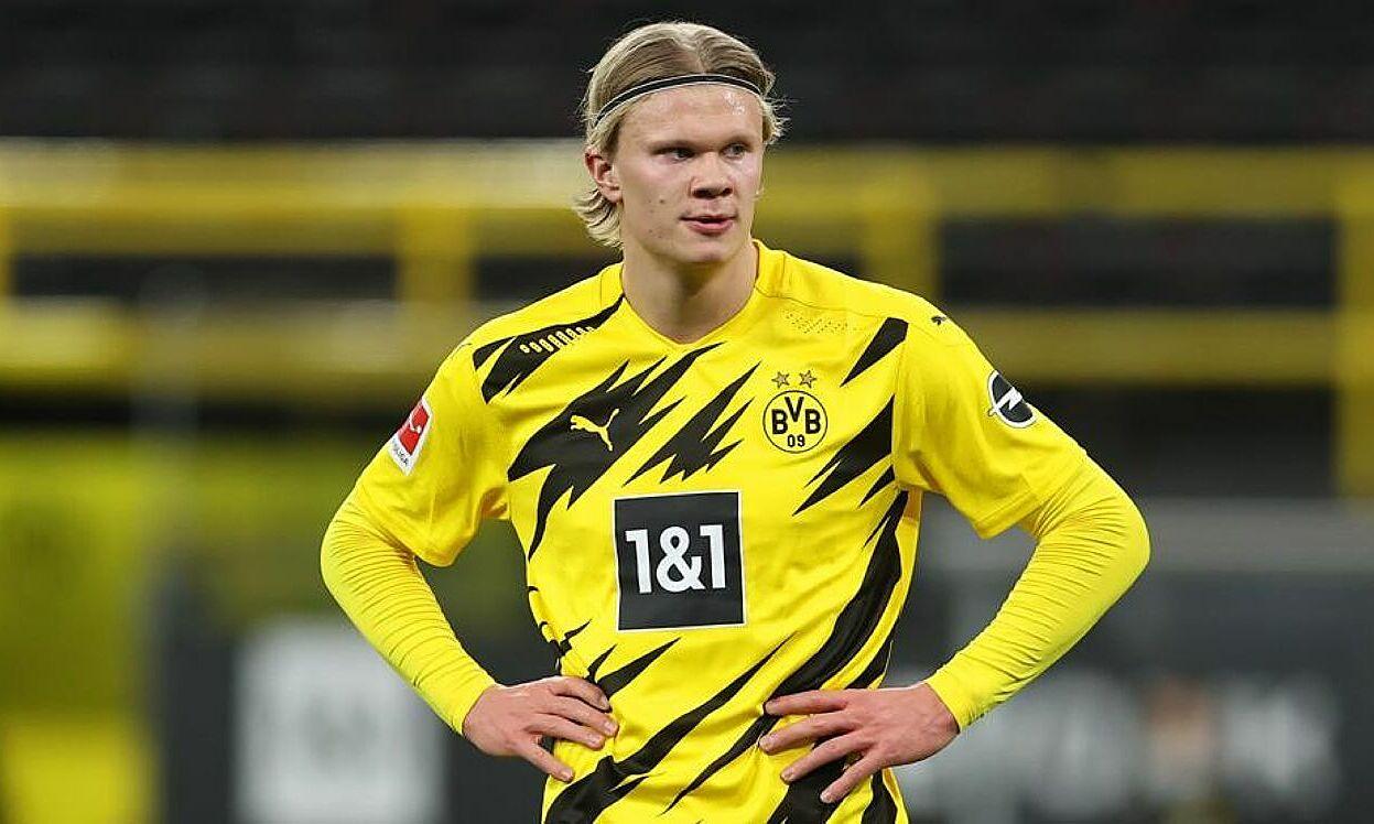Haaland diacak-acak oleh banyak klub besar meski ia baru bermain untuk Dortmund lebih dari setahun.  Foto: Marca.