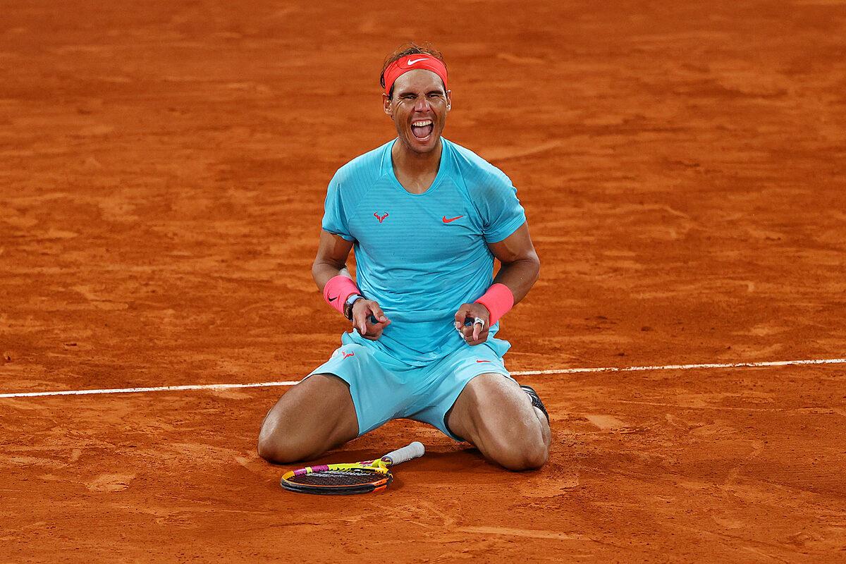 Nadal là đương kim vô địch Pháp Mở rộng, chỉ thua hai trận trong 15 lần dự giải. Ảnh: Reuters.