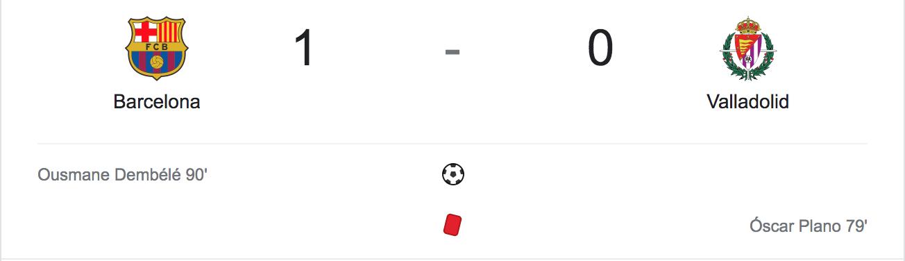 Barca đòi lại nhì bảng trước thềm El Clasico