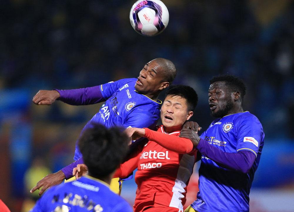 Hanoi tidak terkalahkan dalam 10 pertemuan terakhir dengan Viettel.