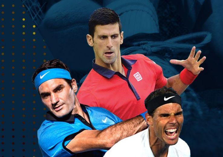 Lần gần nhất Big 3 cùng dự một giải đấu là Australia Mở rộng 2020. Ảnh: ATP.