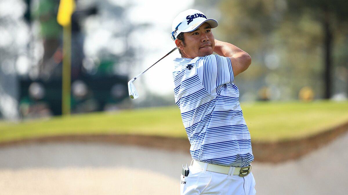 Matsuyama khởi đầu ấn tượng nhất trong số các golfer châu Á tranh tài ở vòng ra quân Masters 2021 trên sân Augusta National hôm 8/4. Ảnh: The Masters