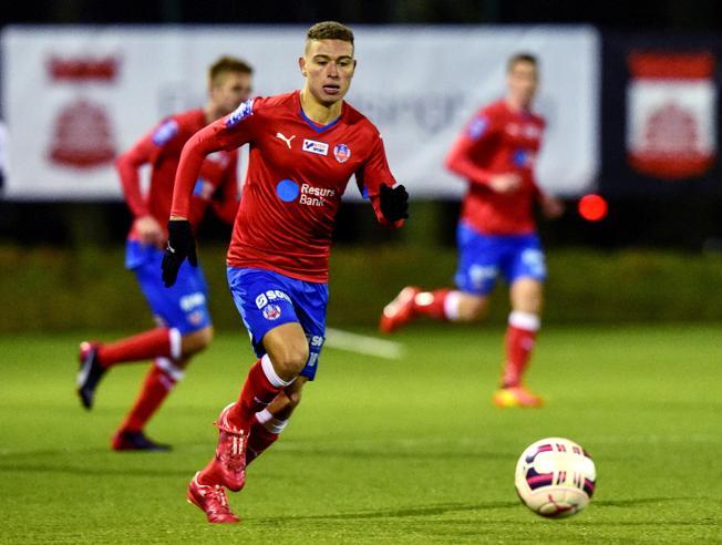 Jordan Larsson đang trưởng thành tại giải vô địch Nga. Ảnh: Bild.