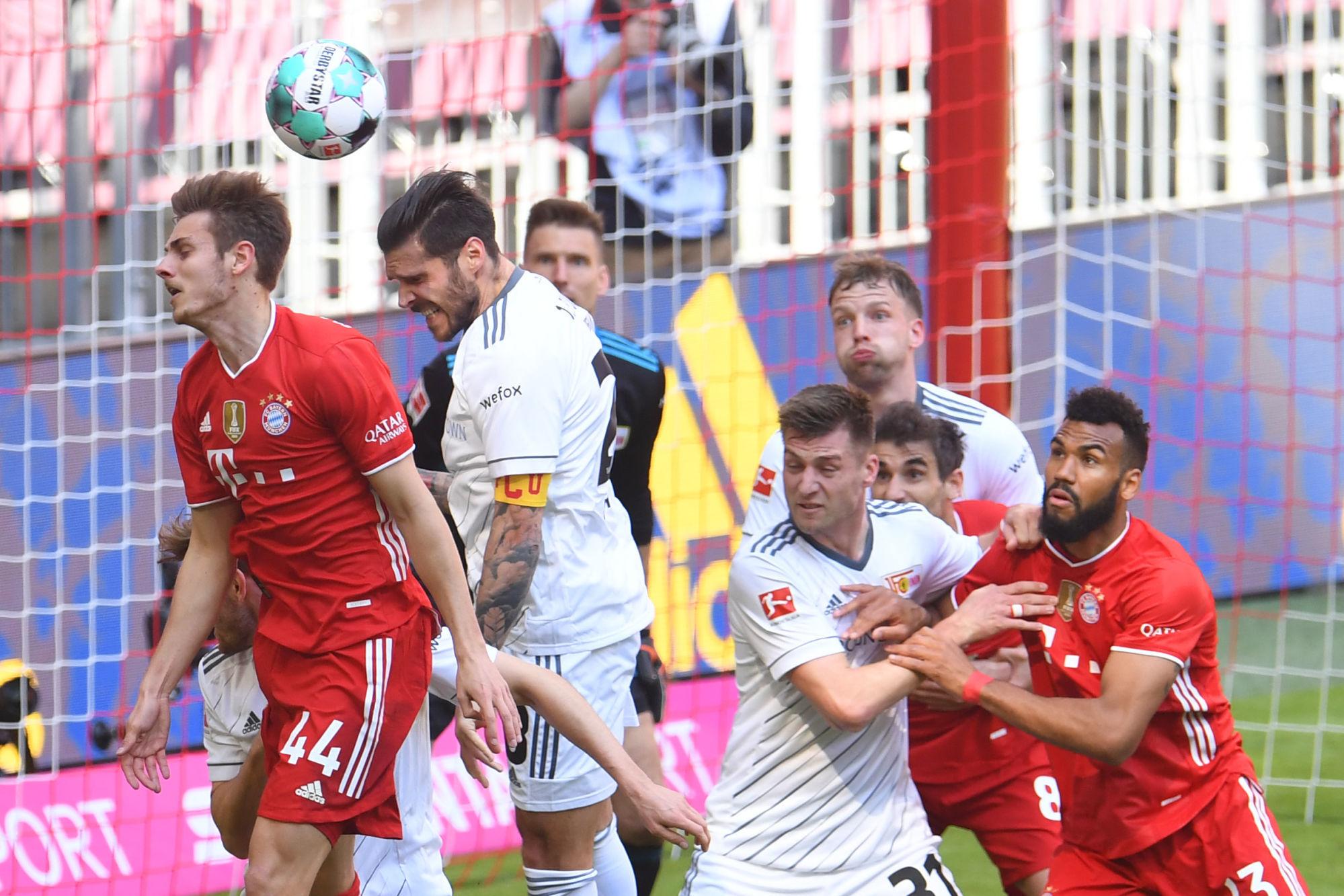 Banyak gelombang tercipta di gawang Union Berlin, tetapi Bayern hanya bisa mencetak satu gol dan itu tidak cukup bagi mereka untuk menang.  Foto: AFP