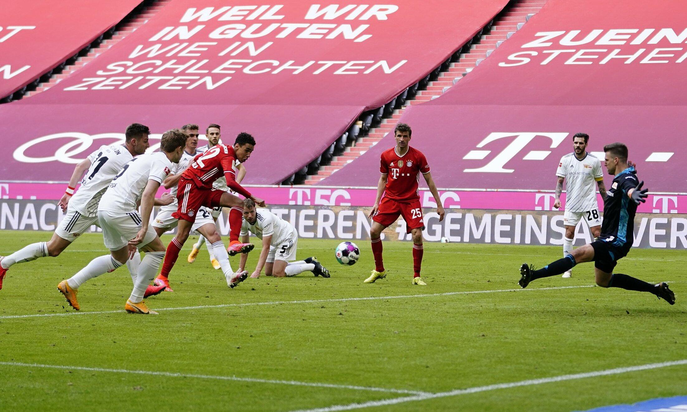 Musiala bersinar, namun satu gol gelandang muda ini tidak cukup untuk membantu Bayern mempertahankan tiga poin penuh di Allianz Stadium.  Foto: Twitter / Bayern