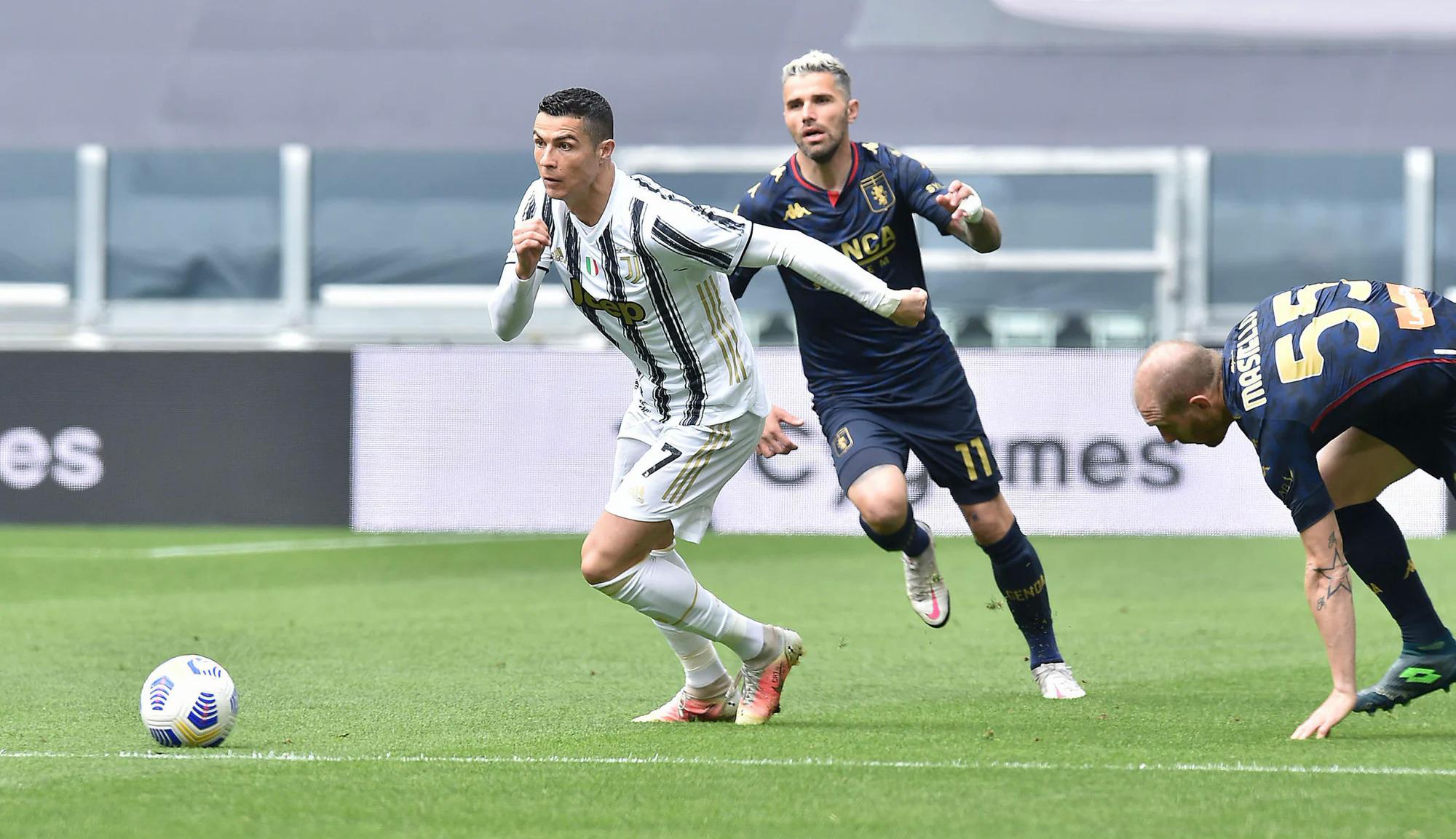 Ronaldo mencetak 8,07 oleh Whoscored - tertinggi dalam pertandingan, tetapi tidak mencetak gol.  Foto: ANSA