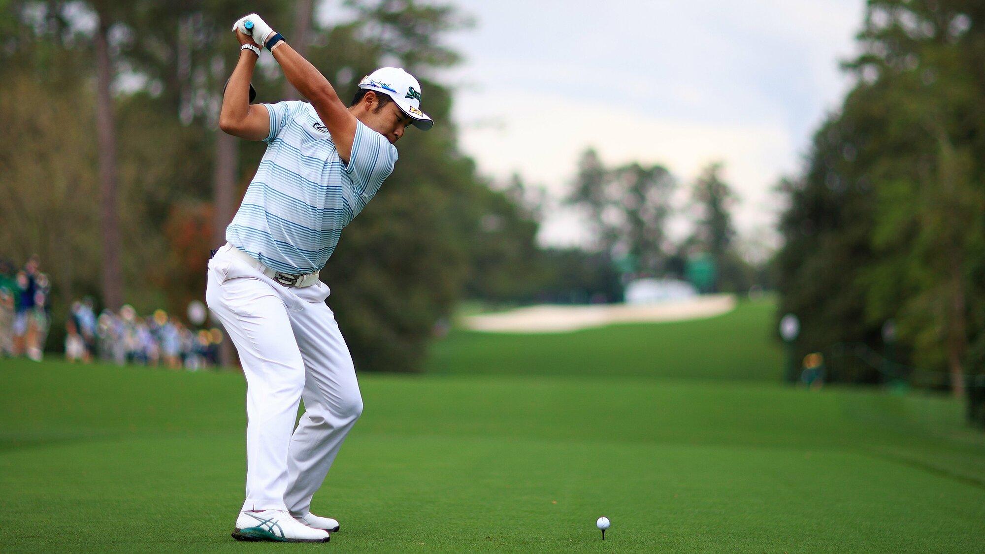 Matsuyama đứng trước cơ hội thành golfer Nhật đầu tiên đoạt một major. Ảnh: Masters