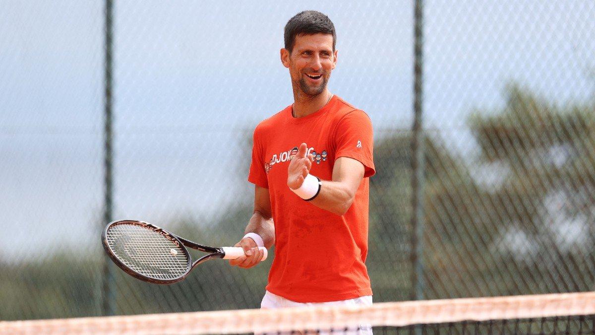 Djokovic menghabiskan 16 hari belajar di Monaco sebagai persiapan untuk Monte Carlo Masters tahun ini.  Foto: ATP.