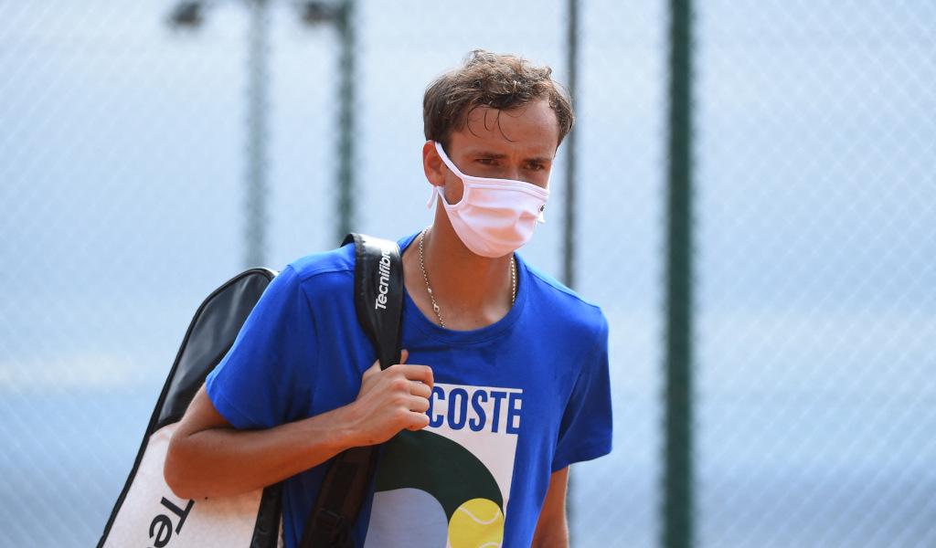 Medvedev thắng 17, thua ba và đoạt một danh hiệu từ đầu năm 2021. Ảnh: ATP.