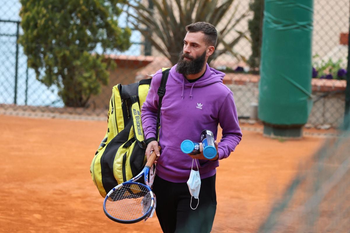 Paire khẳng định thu nhập 12.000 euro chỉ sau một ngày dự Monte Carlo Masters là đủ hài lòng. Ảnh: ATP.