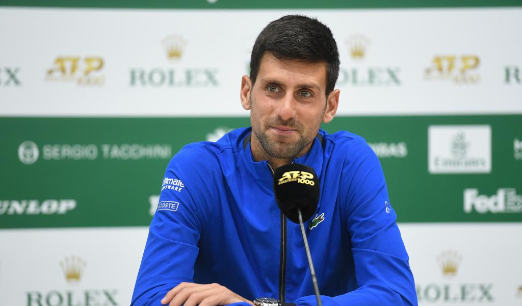 Djokovic đã hai lần vô địch Monte Carlo, nhưng không vượt qua tứ kết kể từ năm 2015. Ảnh: ATP.