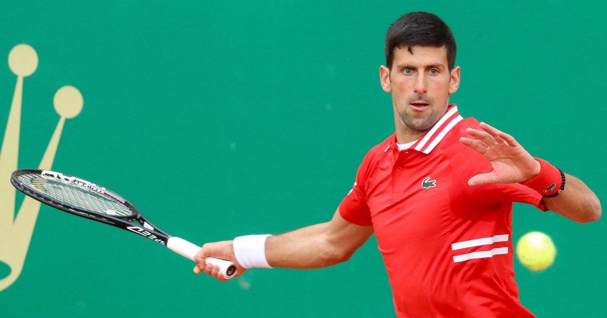 Djokovic toàn thắng kể từ đầu năm. Ảnh: AP.