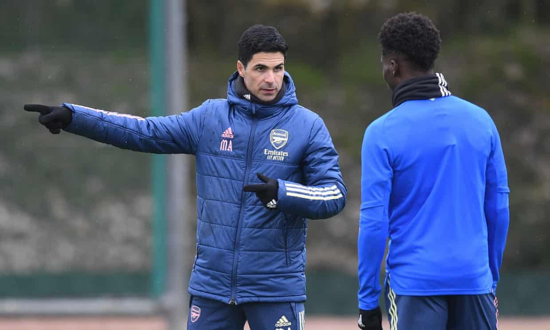 Arteta đang gặp nhiều khó khăn ở Arsenal với tỷ lệ thắng chỉ 51%. Ảnh: AFC