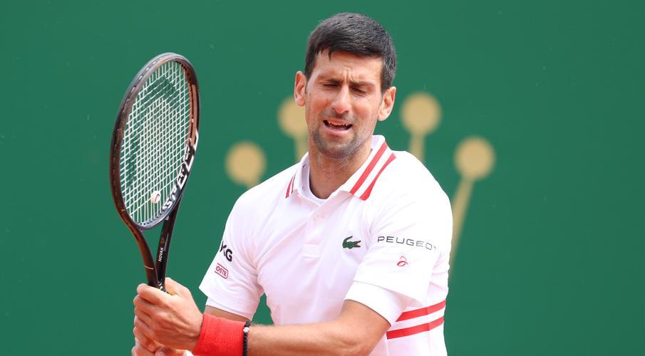Djokovic thua sớm ở sự kiện đất nện đầu tiên tham dự trong năm 2021. Ảnh: ATP.