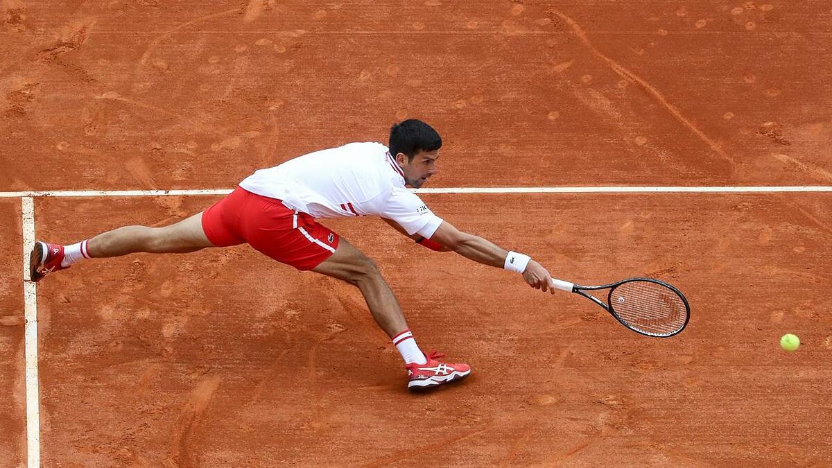 Djokovic kalah dalam pertandingan keduanya di Monte Carlo Masters, meski sudah lebih dari dua minggu persiapan untuk acara tersebut.  Foto: ATP.