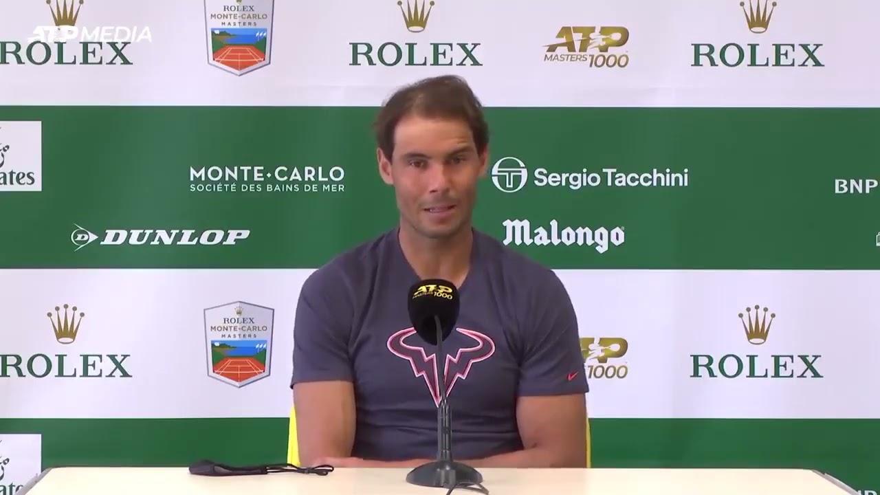 Nadal khởi đầu mùa đất nện bằng hai trận thắng dễ tại Monte Carlo Masters. Ảnh: ATP.