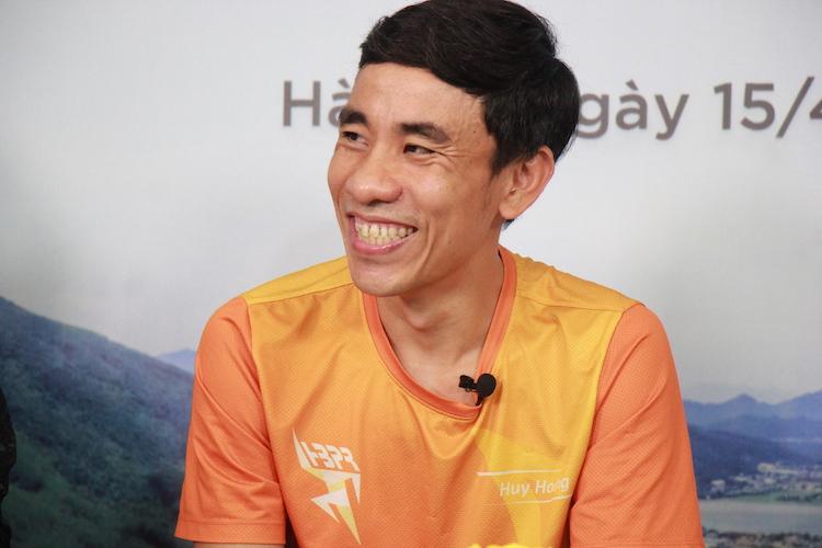 Anh Hoàng Huy – Chủ tịch CLB HB Park Runner