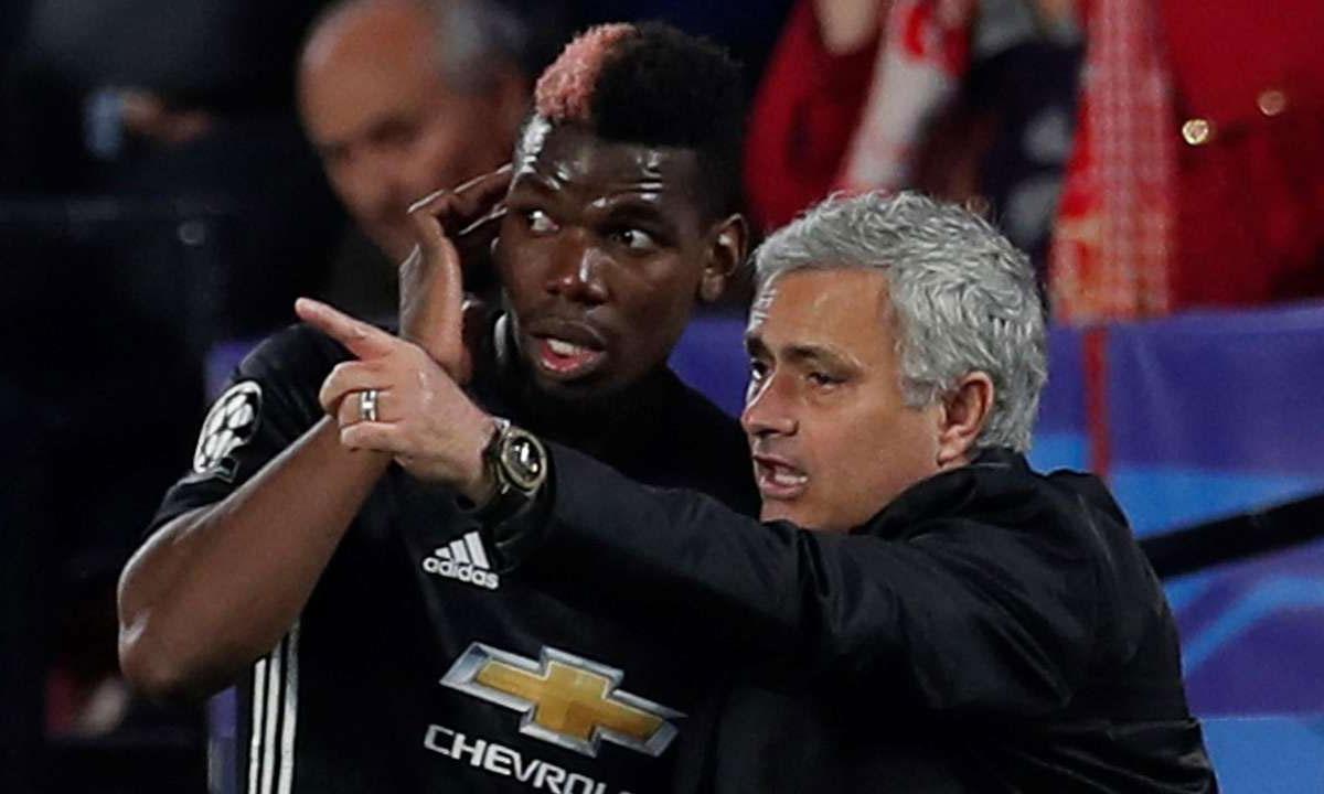Pogba cho rằng phương pháp huấn luyện của Mourinho không hợp với Man Utd. Ảnh: Reuters.