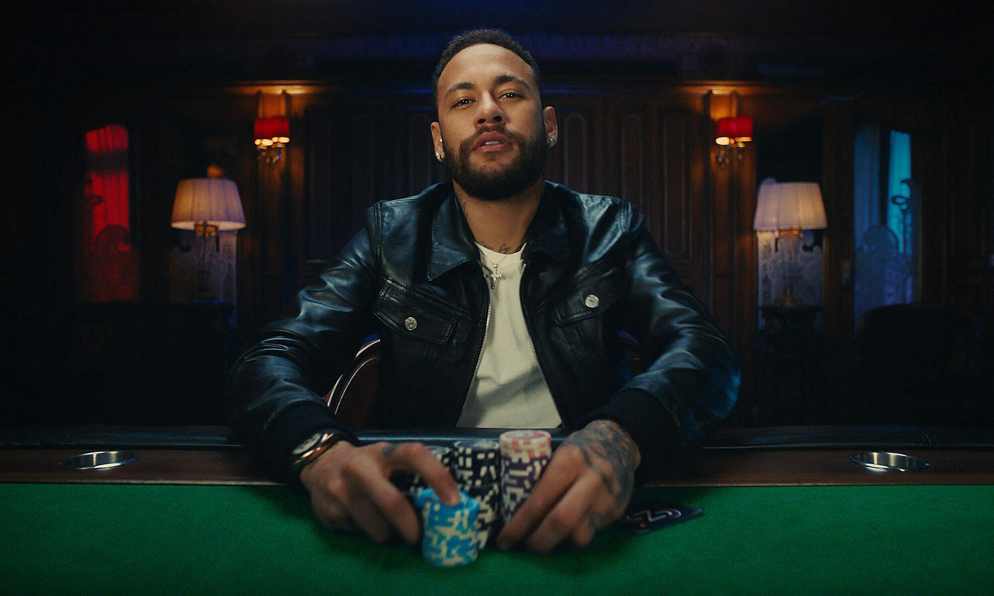 Neymar menganggap poker sebagai gairah terbesar kedua setelah sepak bola.  Foto: pokerstars.net