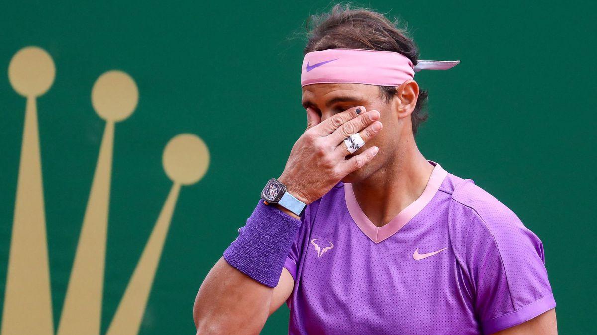 Nadal mới ba lần không vào bán kết Monte Carlo trong 17 lần dự giải. Ảnh: ATP.