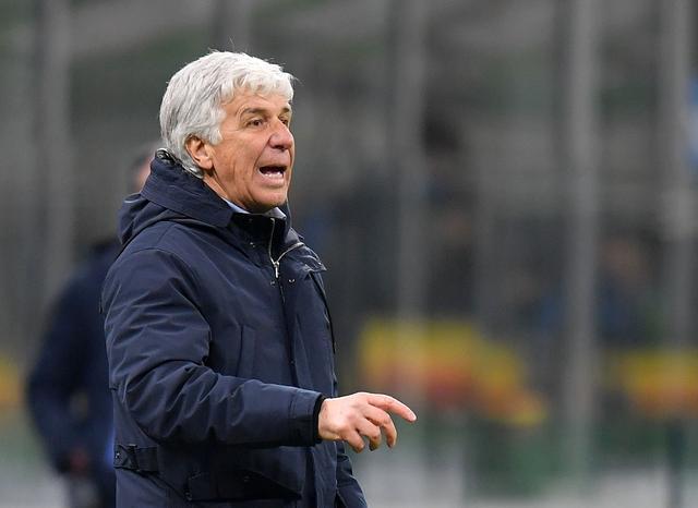 Gasperini đang hướng đến mùa thứ ba liên tiếp cùng Atalanta đứng trong Top 4 Serie A. Ảnh: Reuters.