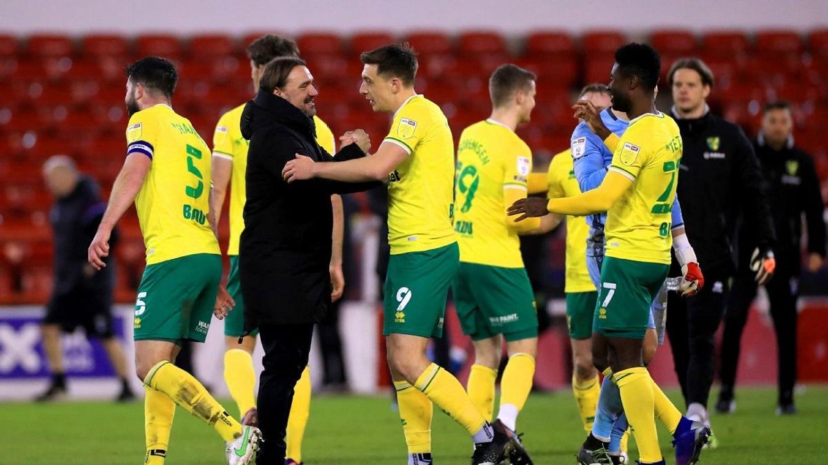 Norwich menang 27 dan kalah hanya enam pertandingan setelah 42 putaran divisi pertama musim ini.  Foto: Langit.