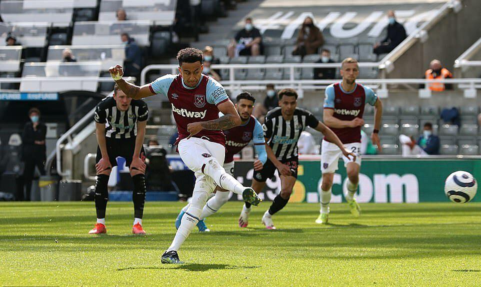 Lingard ghi bàn nhưng West Ham đứt mạch ba trận bất bại. Ảnh: Reuters.