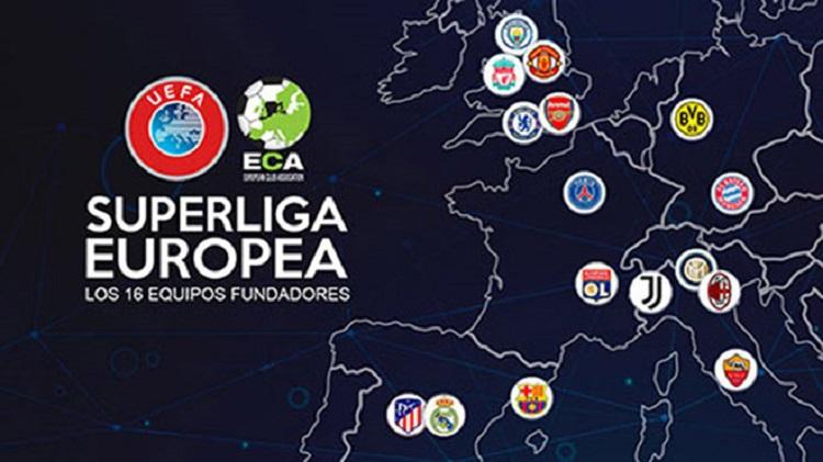 Nhóm các CLB lớn ở châu Âu đã nuôi ý tưởng hình thành Super League nhiều năm. Ảnh: Goal.