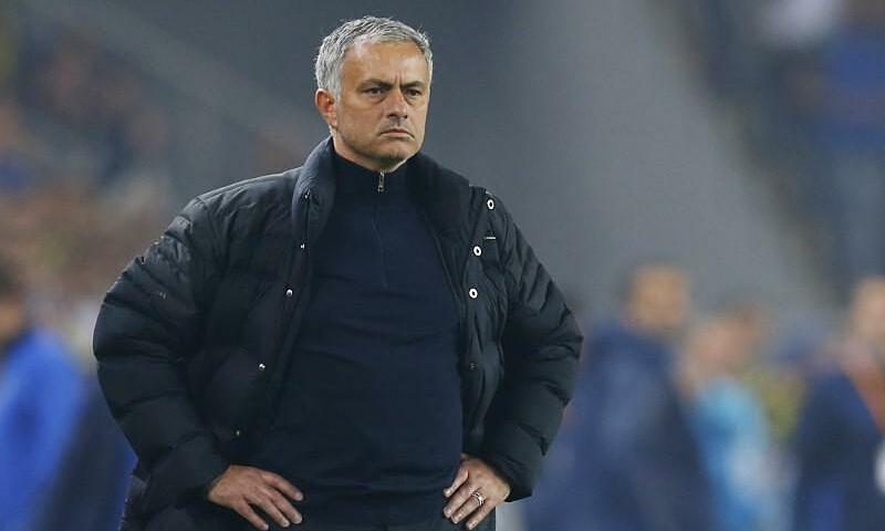 Mourinho dẫn dắt Tottenham 86 trận, tỷ lệ thắng 51%. Ảnh: Reuters