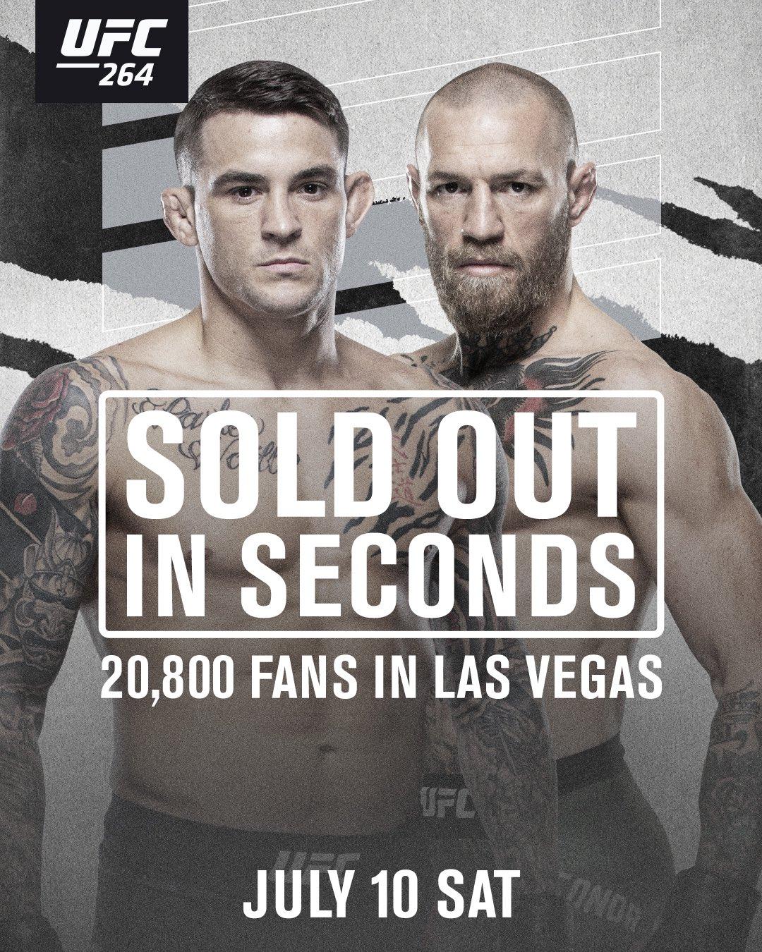 McGregor vs Poirier berjanji akan menjadi pertandingan MMA terbesar sejak wabah Covid-19.