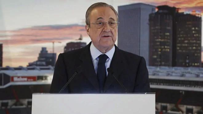 เปเรซเป็นประธานซูเปอร์ลีกคนแรก  ภาพ: Marca