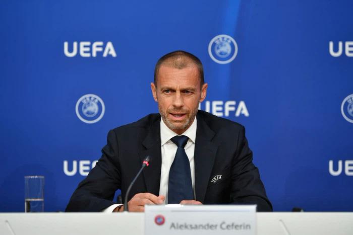 Chủ tịch UEFA mạnh mẽ lên án nhóm CLB thành lập Super League. Ảnh: Reuters.