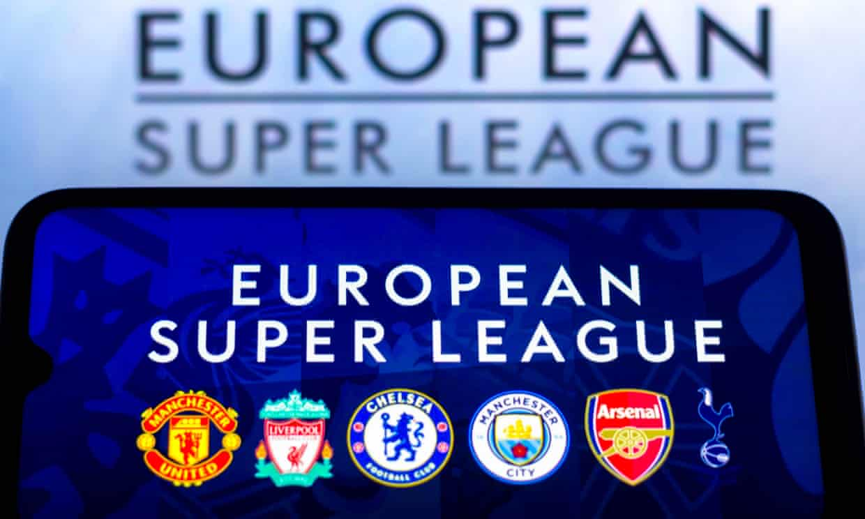 Kế hoạch thành lập Super League có nguy cơ chết yểu khi sáu CLB Ngoại hạng Anh - chiếm một nửa trong 12 sáng lập viên - đồng loạt rút lui. Ảnh: REX