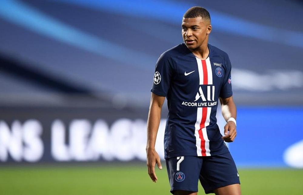 Mbappe PSG mencapai semifinal Liga Champions dan Piala Nasional Prancis, finis kedua di Ligue 1. Foto: EFE