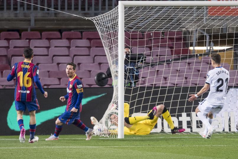 Messi đang đạt phong độ cao nhất kể từ năm 2012 - năm đỉnh cao trong sự nghiệp của anh. Ảnh: Mundo Deportivo