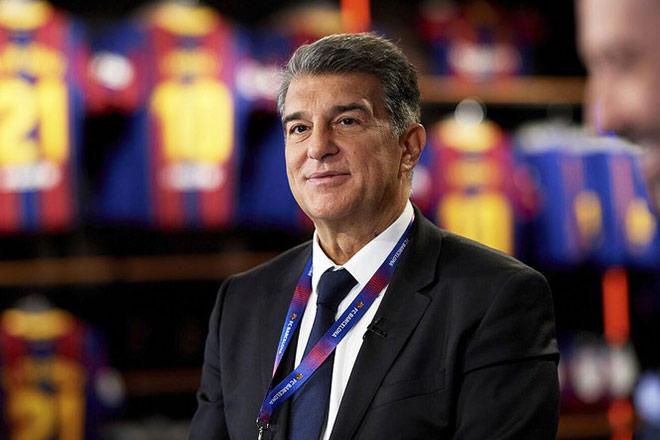 Barca dan Presiden Laporta masih menginginkan turnamen yang mendatangkan banyak uang untuk menyelesaikan beban finansial seperti gagasan Liga Super.  Foto: FCB.