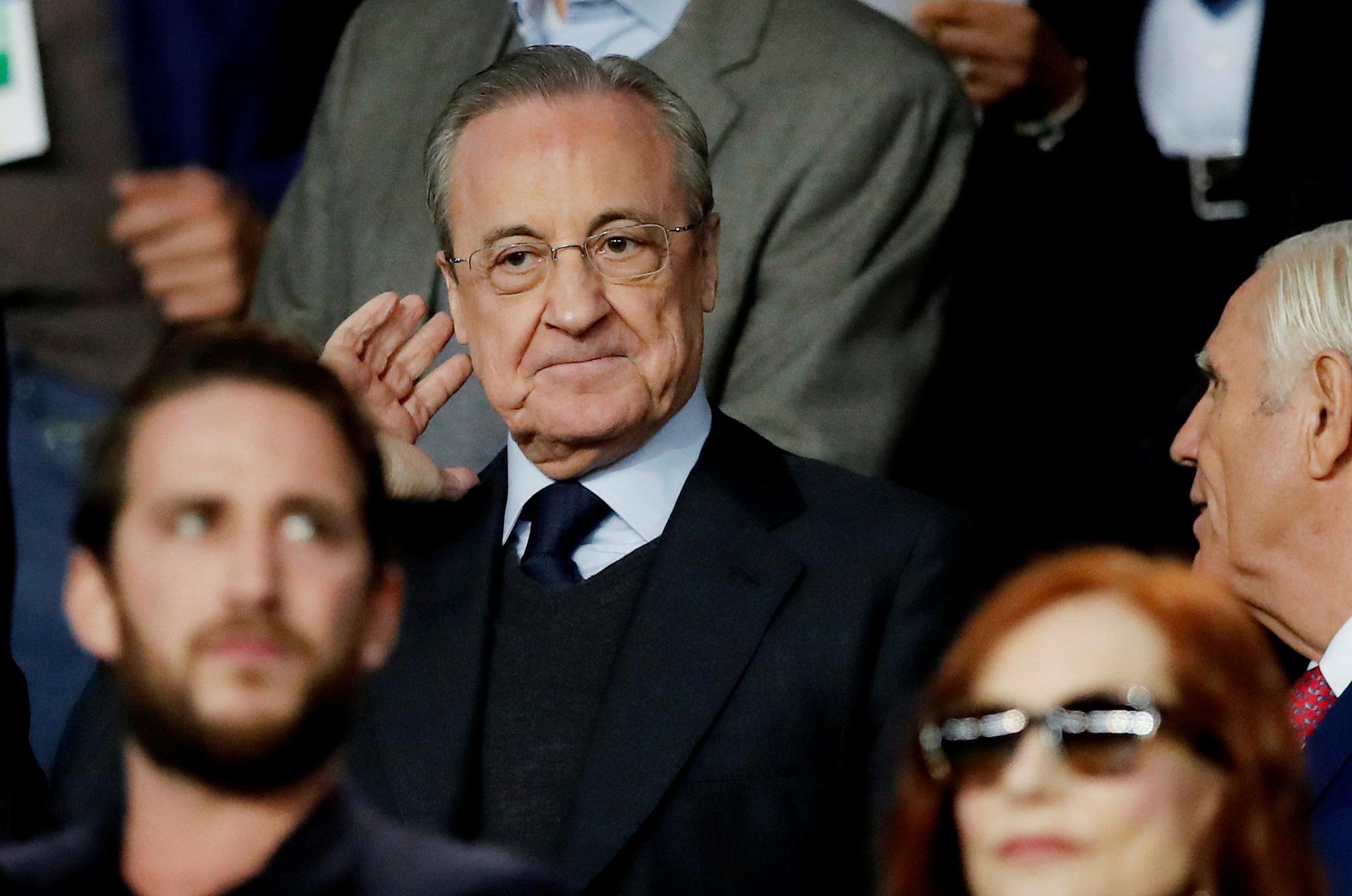 Perez membenarkan bahwa Liga Super masih ada, hanya tidak bisa digelar Agustus ini seperti yang diinginkan oleh tim pendiri.  Foto: Reuters