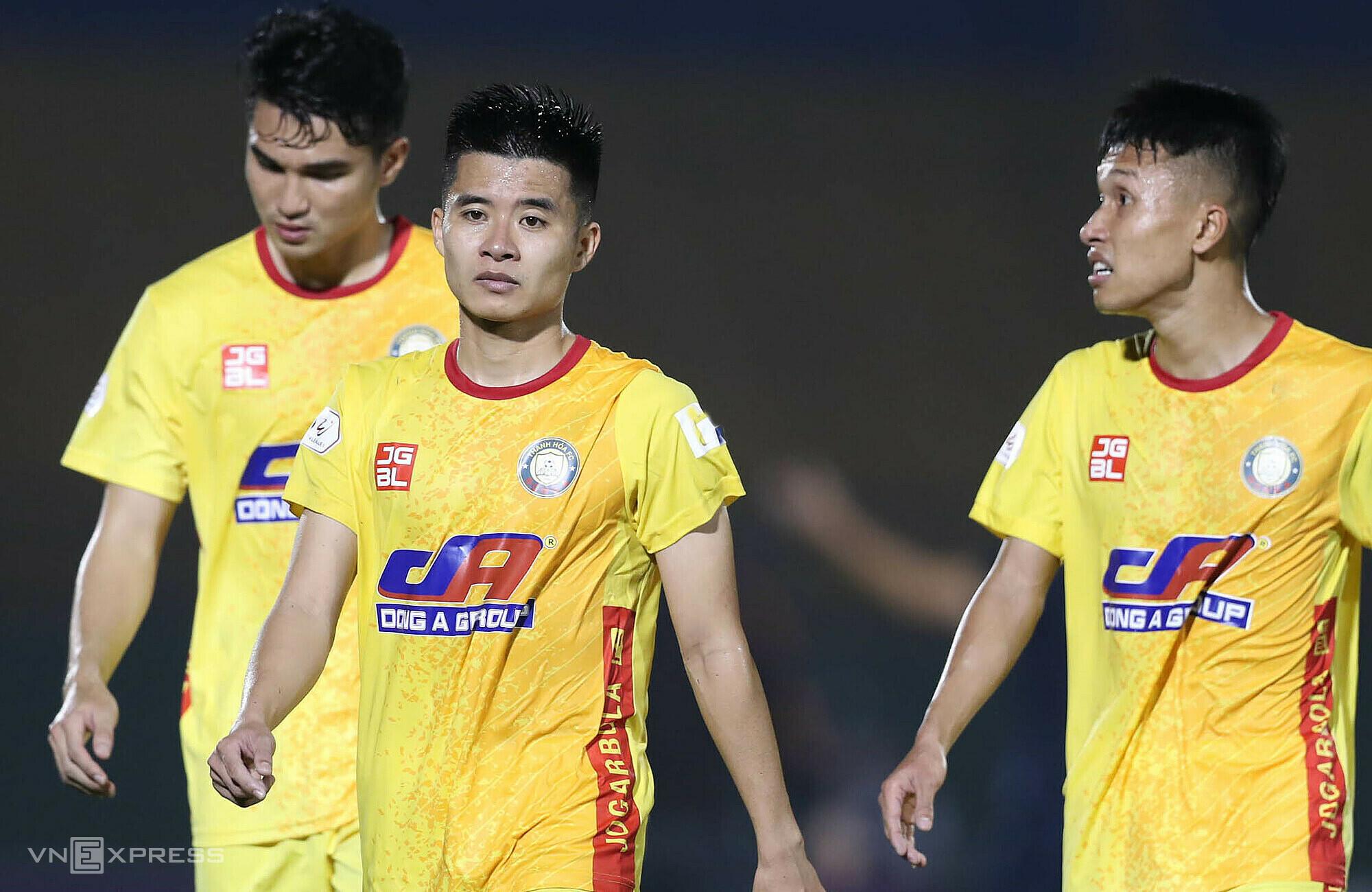 Perpisahan dengan Piala Nasional sebentar lagi merupakan kesempatan bagi Thanh Hoa untuk fokus pada enam gol teratas di V-League.  Foto: Duc Dong.