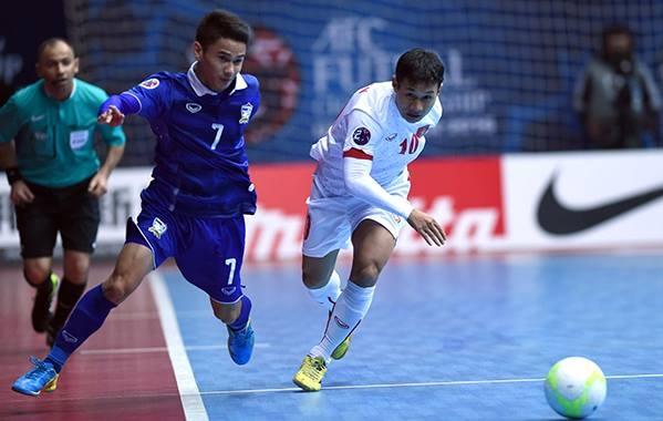 Thái Lan được đánh giá là đội mạnh nhất trong bốn đội đấu play-off. Ảnh: Tú Trần