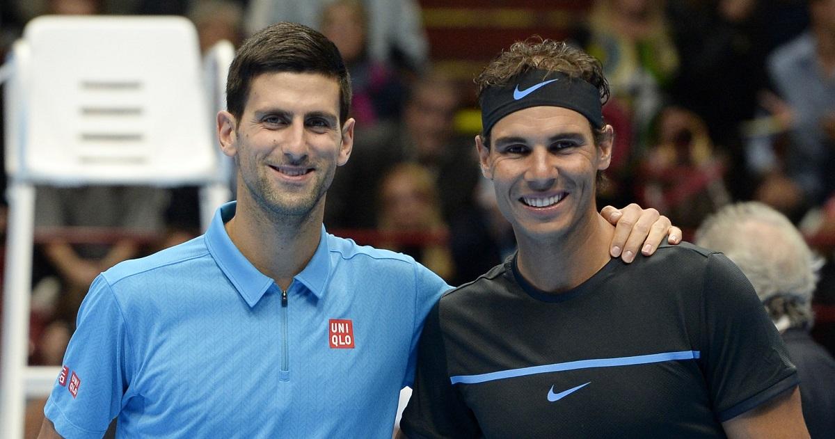 Djokovic thắng 29 và thua 27 trận trước Nadal. Ảnh: ATP.