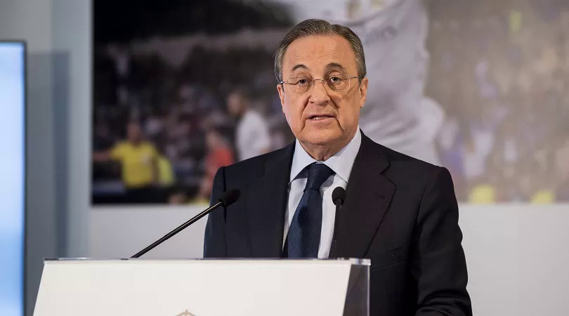 Perez vẫn kiên quyết bảo vệ Super League, bất chấp việc sáu đội bóng Anh đã đào tẩu. Ảnh: AFP.