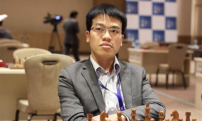 Quang Liêm nhiều cơ hội lần đầu vào tứ kết một giải của Champions Chess Tour. Ảnh: FIDE