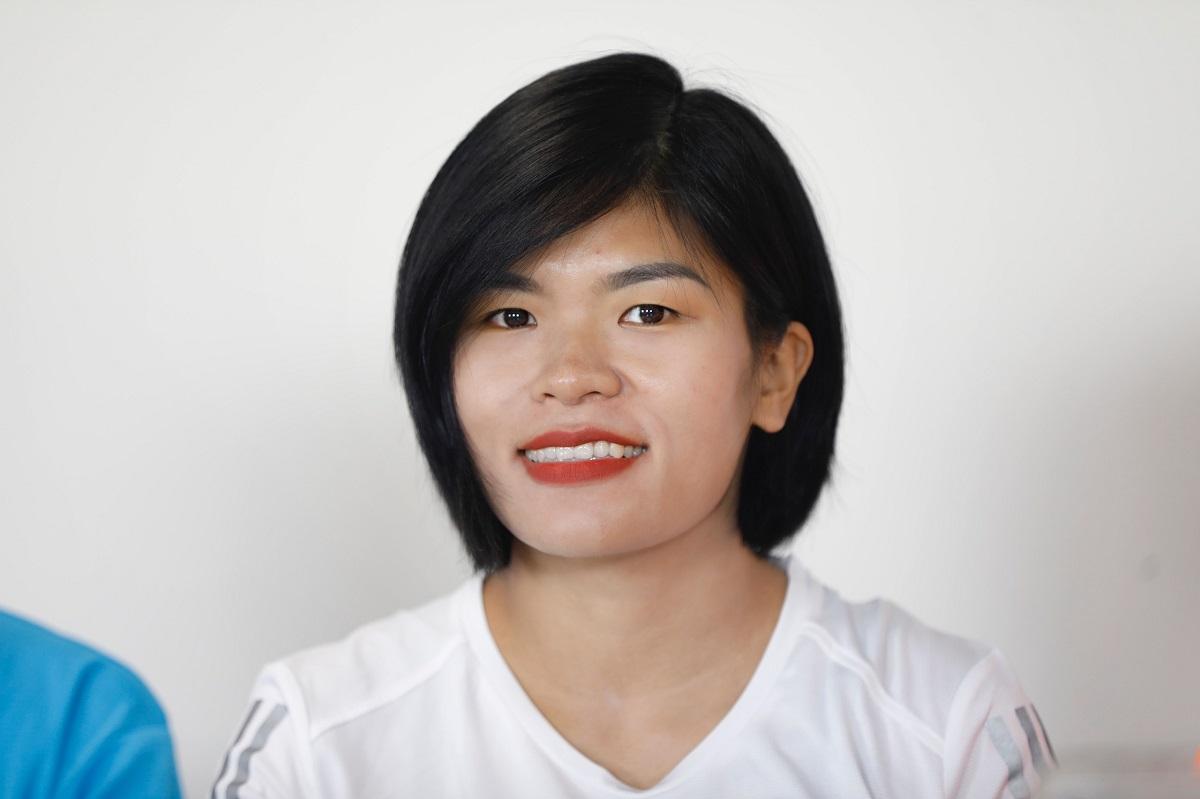 Runner Xuân Diu, câu lạc bộ adidas Runner Saigon. Ảnh: Hữu Khoa.