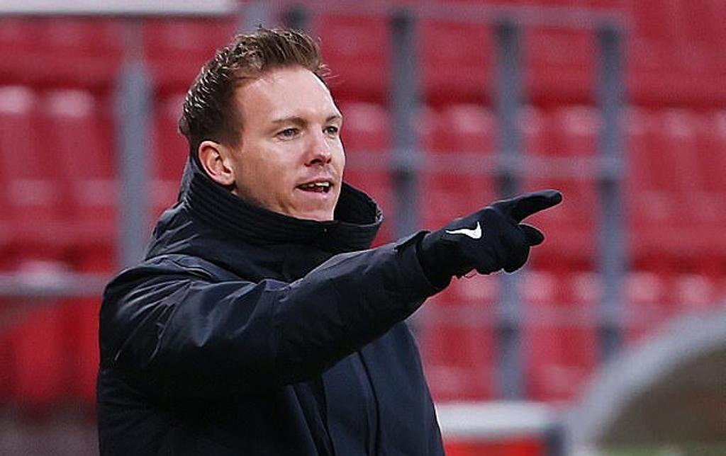 Nagelsmann đưa RB Leipzig vào tứ kết mùa trước và vòng 1/8 Champions League mùa này. Ảnh: Reuters.