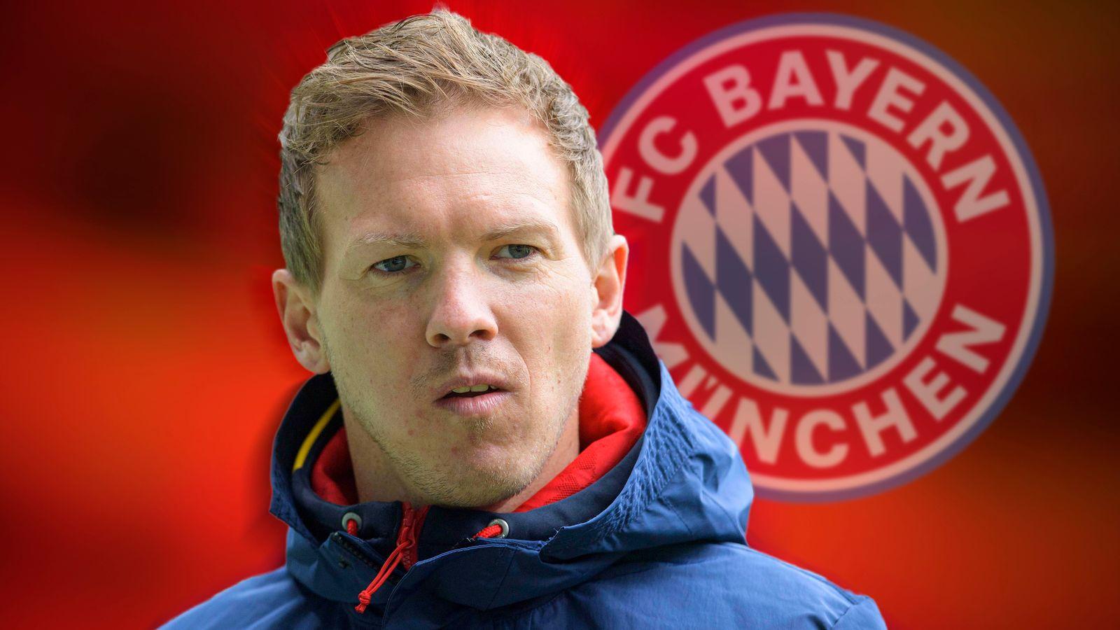 Nagelsmann akan mengambil alih dari Bayern musim panas ini.  Foto: Sky Sports