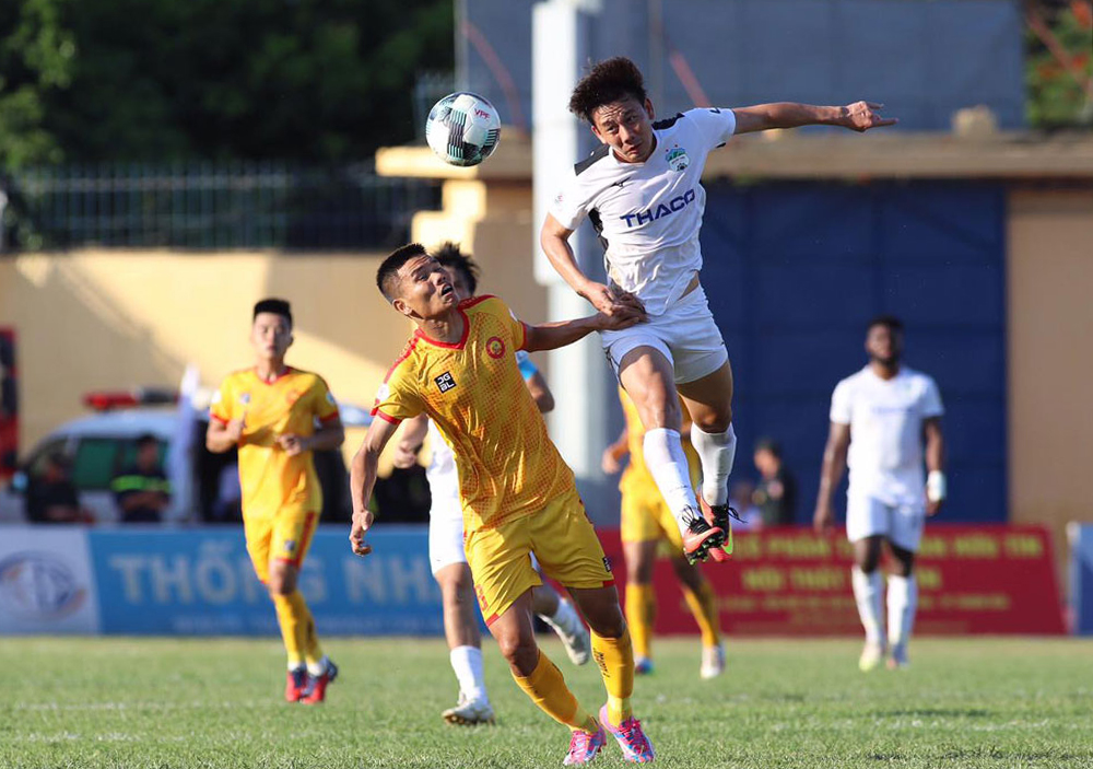 Thanh Hoa และ HAGL เป็นสองทีมที่มีผลงานดีที่สุดเมื่อเร็ว ๆ นี้
